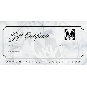 Gift Certificate - uncategorized