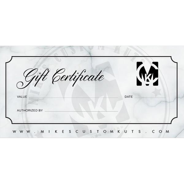 Gift Certificate - uncategorized